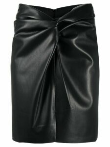 Nanushka Milo high-waisted skirt - Black