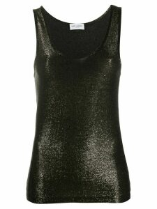 Saint Laurent metallic tank top - GOLD