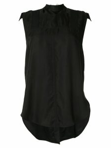 Lee Mathews Edie tie back blouse - Black