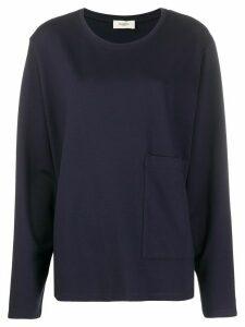 Barena Domitilla round-neck sweatshirt - Blue