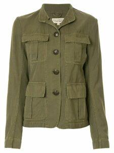 Nili Lotan military multi-pocket jacket - Green