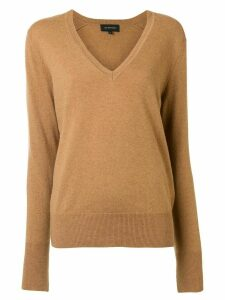 Lee Mathews boyfriend cashmere jumper - Brown