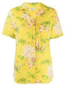 Kenzo floral print shirt - Yellow