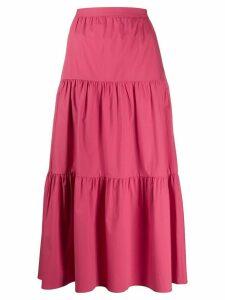 RedValentino high-waisted poplin skirt - PINK