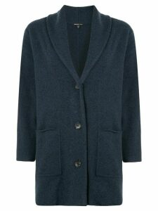 James Perse oversized knit cardigan - Blue