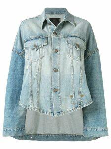 R13 Max oversized denim jacket - Blue