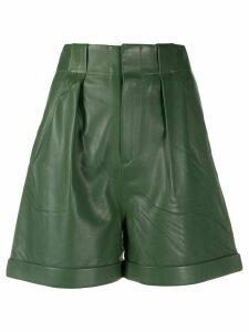 Equipment pleated shorts - Green