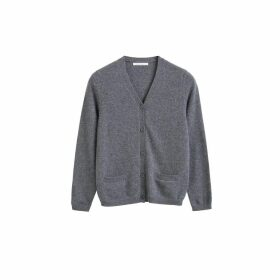 Chinti & Parker Grey Cashmere Cardigan