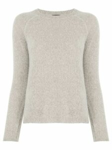 James Perse raglan cashmere jumper - NEUTRALS
