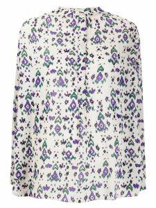 Isabel Marant Étoile abstract print shirt - NEUTRALS