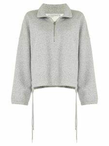 James Perse half-zip sweatshirt - Grey