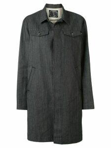 Undercover single-breasted denim coat - Black