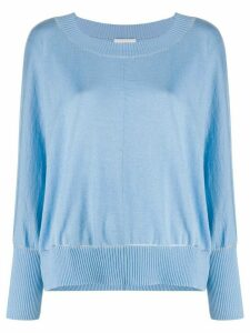 Snobby Sheep contrast trim sweater - Blue