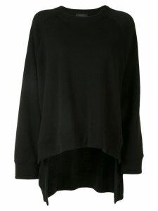 Undercover oversized raglan-sleeves sweatshirt - Black