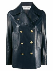 Valentino double-breasted VGOLD jacket - Blue
