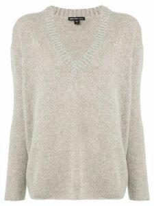 James Perse V-neck jumper - Grey