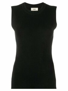 Barena sleeveless knitted top - Black