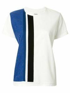 Coohem paisley jacquard T-shirt - White