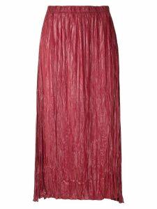 Uma Raquel Davidowicz Galena midi skirt - Red