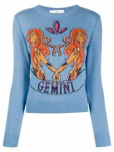 Alberta Ferretti Love Me Starlight Gemini jumper - Blue