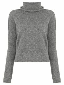 James Perse turtleneck cashmere jumper - Grey
