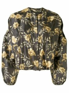 Sir. Carmen floral print blouse - Brown