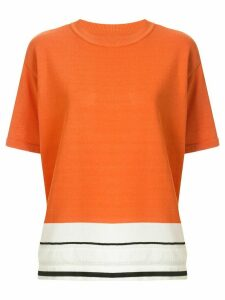 Coohem Sport Summer knit pullover - ORANGE