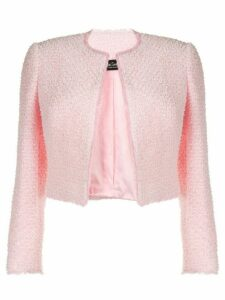 Isabel Sanchis structured tweed jacket - PINK