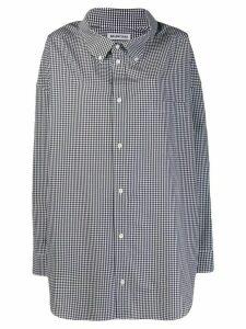 Balenciaga L/S Cocoon Swing Shirt - Black