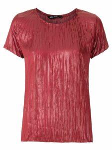 Uma Raquel Davidowicz Cary short sleeves blouse - Red