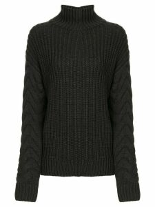 Sir. Ava high neck jumper - Black