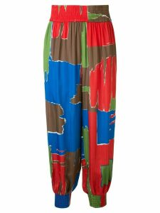 Tory Burch printed pajama trousers - Multicolour