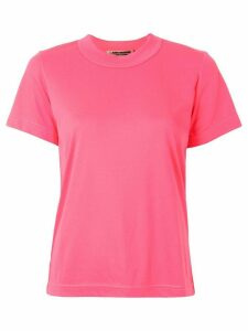 Junya Watanabe solid-color T-shirt - PINK