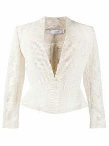 IRO Ignanie woven jacket - NEUTRALS