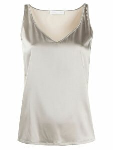 Fabiana Filippi v-neck tank top - NEUTRALS