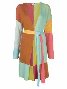 DVF Diane von Furstenberg colour-block cardigan - Multicolour