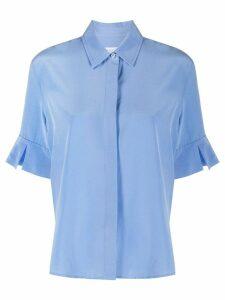 Equipment crepe de chine shirt - Blue