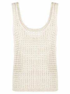 Nanushka knitted vest top - NEUTRALS