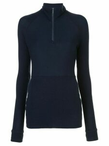ALALA Rise Quarter Zip top - Blue
