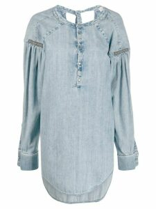 A.F.Vandevorst Cezanne denim top - Blue