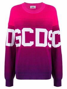 Gcds oversized logo jumper - PINK
