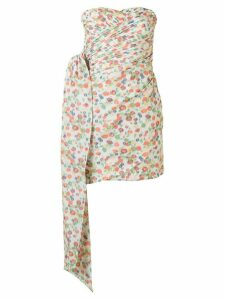 Tory Burch floral print mini dress - Multicolour