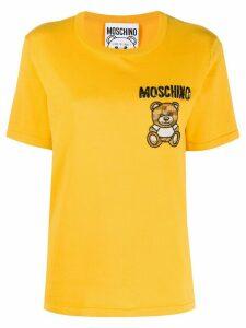 Moschino beaded Teddy T-shirt - Yellow