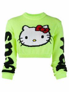 Gcds Hello Kitty print T-shirt - Yellow