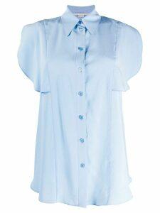 Stella McCartney ruffled detail shirt - Blue