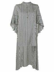 Palmer//Harding striped drape top - White