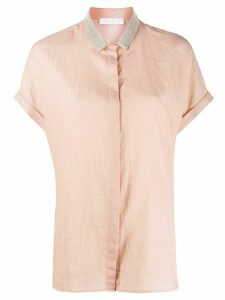 Fabiana Filippi bead-embellished shirt - NEUTRALS