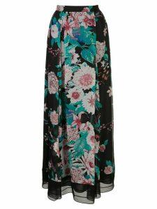 DVF Diane von Furstenberg Heka chiffon maxi skirt - Black