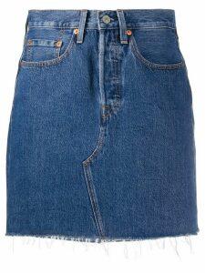 Levi's denim short skirt - Blue