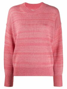 Isabel Marant Étoile knitted long sleeve jumper - PINK